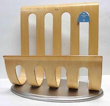 Michael Graves for Target 2003 Bent Plywood Magazine Rack w/ Original Tag!