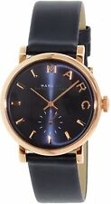 Marc By Marc Women's Baker MBM1329 Royal Blue Leather Swiss Quartz Watch