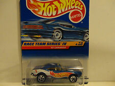 Hot Wheels #725 Blue '67 Camaro w/5 Spoke Wheels Malaysia Base