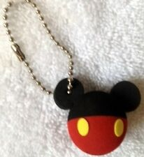 "DISNEY MICKEY MOUSE FOAM BACKPACK DANGLER KEYCHAIN BALL - NEW ""o"""