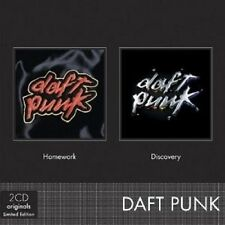 DAFT PUNK - HOMEWORK & DISCOVERY 2 CD 30 TRACKS INTERNATIONAL POP  NEU