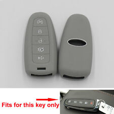 Silicone Cover Holder Shell Grey For Fusion Flex Escape Smart Remote Fob Key 5BT
