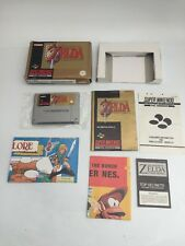 The legend of zelda-a link to the past-coffret-SNES, super Nintendo