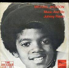 7inch MICHAEL JACKSON music and me HOLLAND RARE EX / VG++ +PS