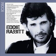 "EDDIE RABBITT, CD ""ICON"" NEW SEALED"