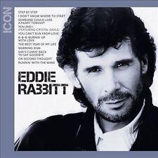 """EDDIE RABBITT, CD """"ICON"""" NEW SEALED"""