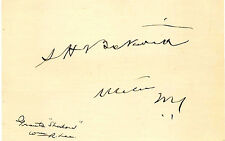 Signature of Grant's Shadow Captain Samuel H. Beckwith