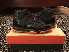 1996 OG Air Jordan 11 Dirty Breds Red White Size 7.5 100% Authentic