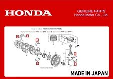 GENUINE HONDA ENGINE BEARINGS SET CIVIC TYPE R EP3 FN2 DC5 FD2 K20A K20A2 K20Z4