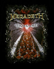 MEGADETH cd cvr ENDGAME Official 2-Sided SHIRT XXL 2X New end game