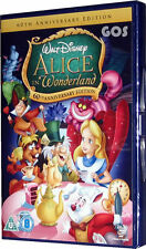 Alice In Wonderland Walt Disney Animated Film Childrens Movie DVD New Sealed