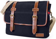 Tommy Hilfiger Messenger Bag Laptop Briefcase - Navy