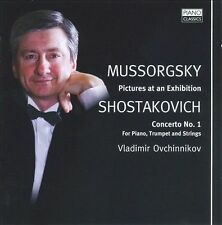 Mussorgsky: Pictures at an Exhibition; Shostakovich: Piano Concerto No. 1 in D m