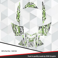 SLED WRAP DECAL STICKER GRAPHICS KIT FOR SKI-DOO REV MXZ SNOWMOBILE 03-07 SA0136