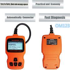 OM123 OBDII OBD2 EOBD Car Diagnostic Scanner Tool Auto Engine Fault Code Reader