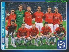 624 FINAL 2008 ENGLAND MANCHESTER UNITED FC STICKER CHAMPIONS LEAGUE 2014 PANINI