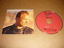 *STING CD SINGLE EU DESERT ROSE