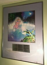 WILDBANK SIGNED 9/500 FRAMED LITHOGRAPH PRINT L. RON HUBBARD BATTLEFIELD EARTH