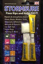 Stormsure BLACK repair adhesive glue 3 5g bottles to repair flexible material