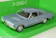 1965 CHEVROLET IMPALA SS 396 in Blue 1/24 scale model by WELLY
