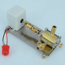 Mini Turbine Steam Engine  Power Generator Engine w/ LED