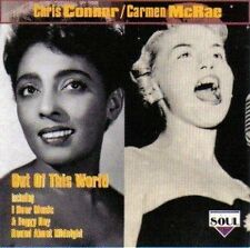 Chris Connor Out of this world (compilation, 21 tracks, 1993, & Carmen Mc.. [CD]