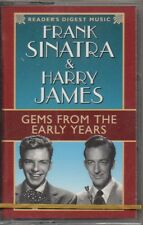 "FRANK SINATRA & HARRY JAMES ""GEMS FROM THE EARLY YEARS"" CASSETTE 1998 sealed"