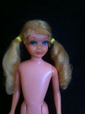 1967 Sausage curl Skipper, long thick lashes, see last pic, some minor flaws.