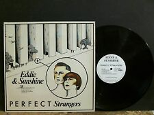EDDIE & SUNSHINE  Perfect Strangers  LP  Ultravox  Bowie influence NEAR MINT!
