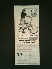 1967 Raleigh 5 Speed Twinshirt Rodeo 3+2 Bicylcle Sports Bike Ad