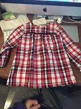 NEW Carter's Baby Girl Plaid Dress Size 24 months NWT **cute**