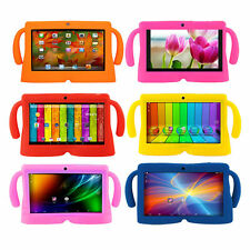 "7"" Android 4.4 8GB Quad Core Children Tablet + Bundle Rubber Case Kids Children"