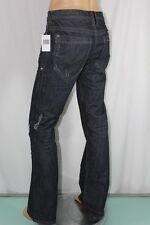 100% AUTHENTIC NEW MENS GUESS JEANS ROLLAND LOW BOOT CUT DESTROY SZ 32 INSEAM 34