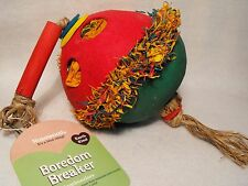 PARROT TOY AFRICAN GREY / MACAW LARGE COCONUT FORAGER SAFE NATURAL PARROT TOY