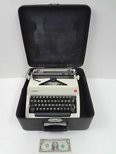 Vintage Olympia SM9 Deluxe Typewriter w/ Case