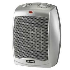 NEW Lasko Portable Electric Ceramic 1500W Heater Small Adjustable Thermostat