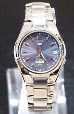 SEIKO 5 SNK621 Stainless Steel Band Automatic Men's Grey Watch SNK621K1 New