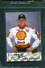 1998 Press Pass Stealth Signings Autograph Tony Stewart Rookie Auto
