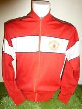 Manchester United Football Club Tracksuit Top Adidas 1984/86 Soccer