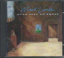 MARK LAMBIN - Over spel en ernst CD Album 12TR BELGIUM 1994 (INDISC) RARE!!