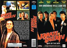 (VHS) Karate Tiger IV - Best of the Best - Eric Roberts, Phillip Rhee (1989)