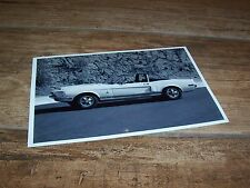 Photo de presse / Press Photograph FORD Mustang Shelby GT 500 Convertible //