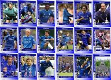 Chelsea fc 2000 fa cup winners football trading cards