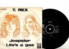 T REX  7'' PS Jeepster DENMARK VERY RARE EMI 6E 006-93054 unique cover Danish 45