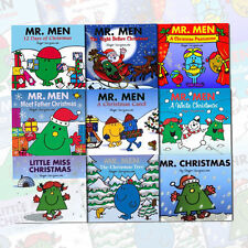 Roger Hargreaves Mr.Men and Little Miss Christmas Children Collection 9 Book Set