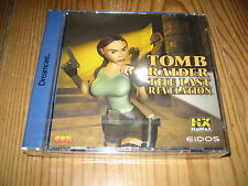 Tomb Raider the last revelation NEUF pour Sega DREAMCAST