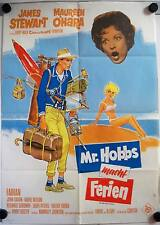 Mr. Hobbs macht Ferien Filmposter A1 EA Mr. Hobbs Takes a Vacation James Stewart