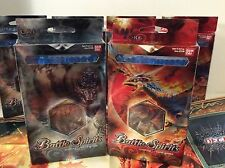 2 Packs Battle Spirits / Call of the Core / Deck A & B trading card games