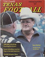 Dave Campbell's Texas Football 1980 Spring Edition Bum Phillips cover