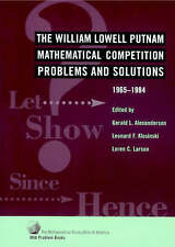 The William Lowell Putnam Mathematical Competition, Alexanderson, Gerald L.